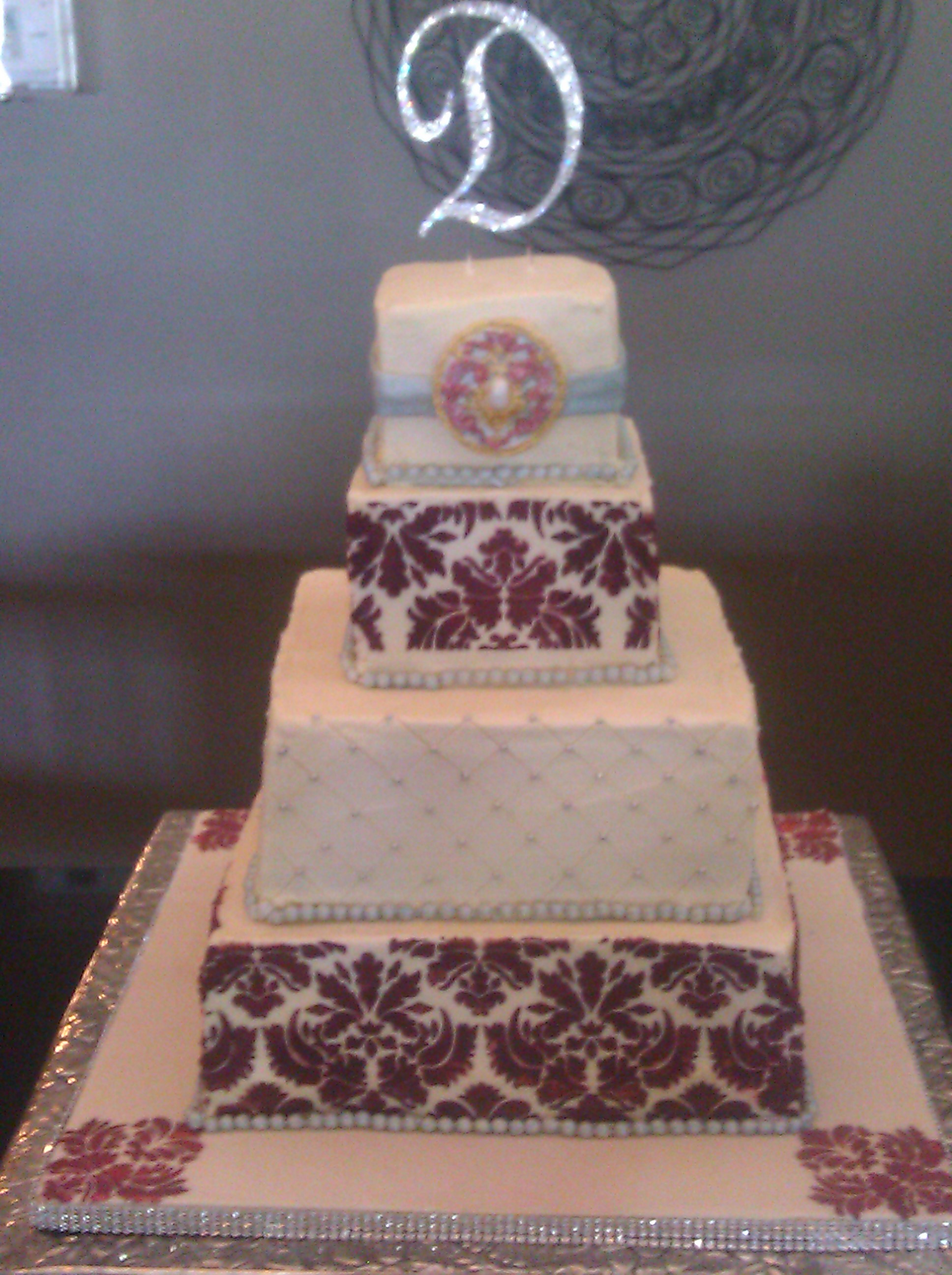 Cake Gallery 1 AZCAKEDIVA Custom One Of A Kind Wedding Cakes Phoenix